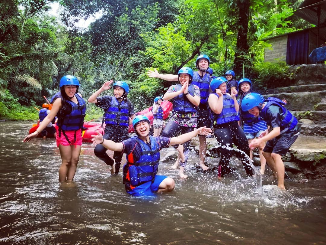balaji ayung rafting ubud