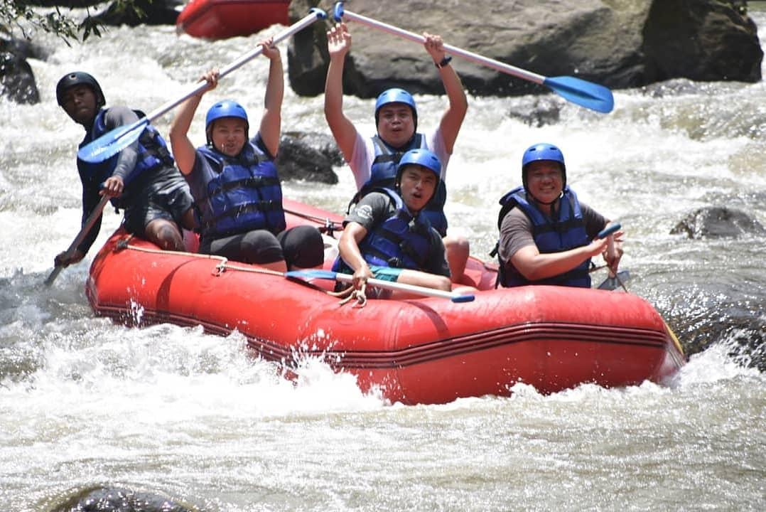 balaji ayung rafting